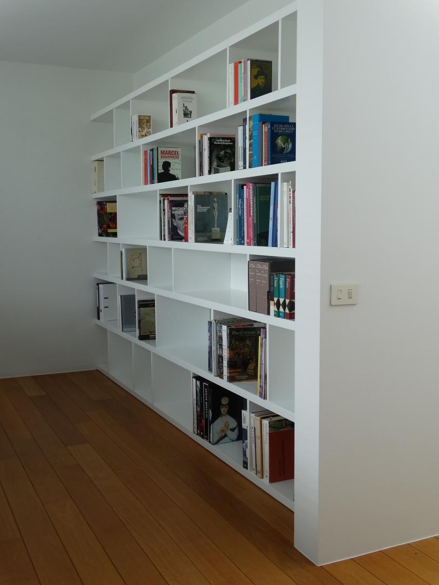 Realisaties: bureau & boekenkast - Blog - Bminus